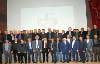 Bursa'da muhtarlar belediyelerin yatırımlarını...