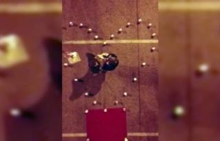 Bursa'da drone ile evlenem teklifi