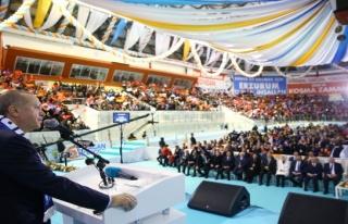 Cumhurbaşkanı Erdoğan: Kapıları açsaydık kaçacak...