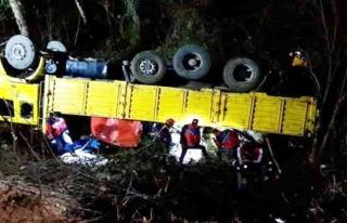 Karabük'te kamyon kazasında kişi hayatını kaybetti...