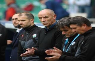 Bursaspor'un 1-0 kazandığı Sivasspor mücadelesi...