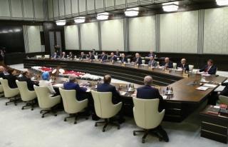 MGK Toplantısı'nın ardından Bakanlar Kurulu toplandı
