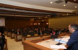 Bursa'da Meclis Toplantısı'nın ikincisi yapıldı......