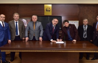 Sözleşme imzalandı