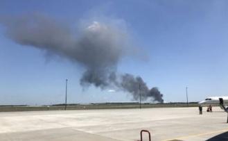 ABD'de askeri uçak kazası