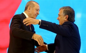 Özbekistan Cumhurbaşkanlığı'ndan Erdoğan'a özel klip
