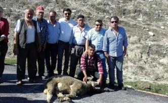 Büyükorhan'da köyde asfalt kutlaması