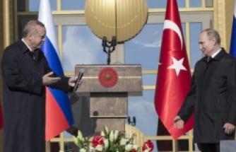 Cumhurbaşkanı Erdoğan ve Ptuin ile Akkuyu Nükleer Santrali'nin açılışı