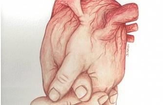 Organ bağışına destek için çizilen karikatürler