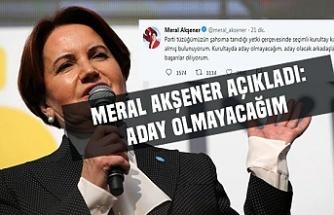 Meral Akşener iddiaları kabul etti! İYİ Parti'de başkan depremi