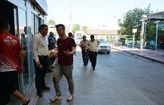 Bursa'da bir bayram klasiği: Hastane önünde acemi kasaplar!