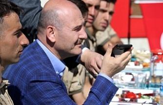 Cumhurbaşkanı Erdoğan, Kato'da görev yapan askerlere seslendi
