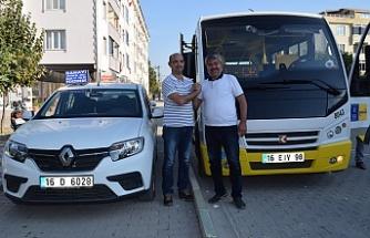 Bursa'daki dolmuş taksi sorunu bitiyor