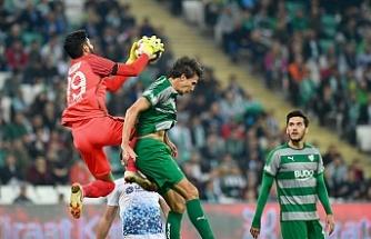 Bursaspor'da Santiago Vergini hayal kırıklığına uğrattı
