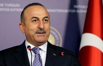 Çavuşoğlu'ndan Kıbrıs'ta müzakere açıklaması