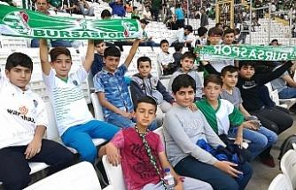 Haydi öğrenciler Bursaspor maçlarına