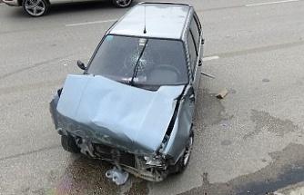 Bursa'da feci kaza! Bebekli aile ölümden döndü