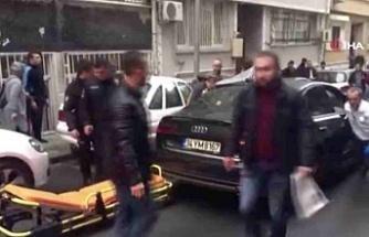 Lüks otomobile silahlı saldırı!