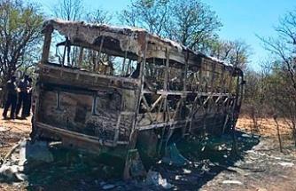 Yolcu otobüsünde patlama! 42 ölü