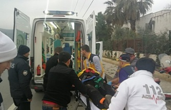 Bursa'da feci kaza! Motosiklet sürücüsü...