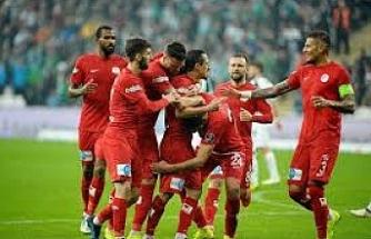 Bursaspor: 0 - Antalyaspor: 2 (maç sonucu)