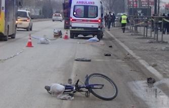 Bursa'da feci kaza!  Suriyeli genci kamyon ezdi!