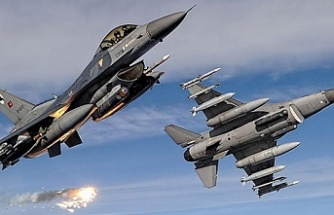 Irak'ın kuzeyine hava harekatında en az 6 terörist etkisiz hale getirildi