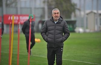 """Samet Aybaba: """"Fenerbahçe maçını kazanmak istiyoruz"""""""