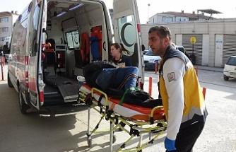 Bursa'da dehşet veren kaza saniye saniye görüntülendi