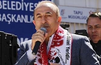 Bakan Çavuşoğlu: Yine sizin yüzünüzden savaş çıkacak