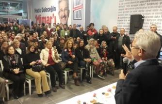 """CHP Nilüfer Belediye Başkan Adayı Erdem:  """"HERKES İÇİN NİLÜFER..."""