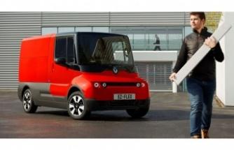 Renault elektrikli ve internet bağlantılı ticarisini tanıttı