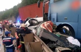 Bursa'da zincirleme facia! İnanılmaz kazada can pazarı