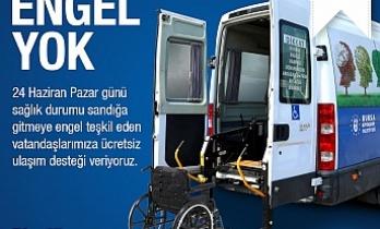 Bursa'da oy kullanmaya 'engel' yok