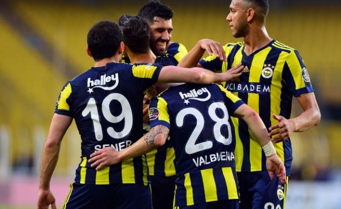 Fenerbahçe ligi ikinci bitirdi