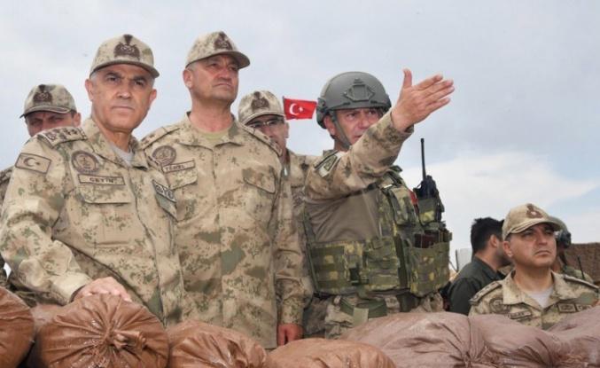 Jandarma Genel Komutanı Çetin Afrin'de