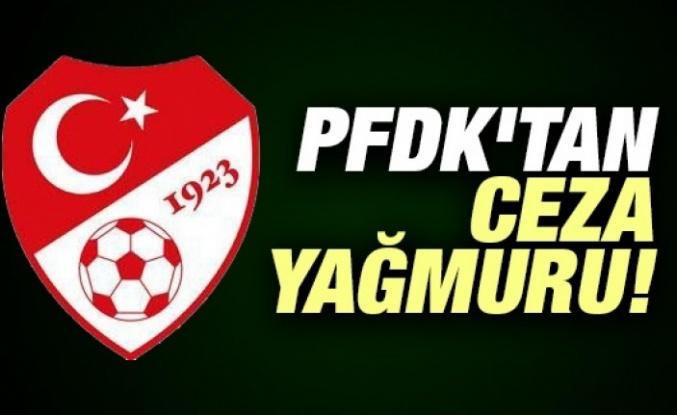 PFDK, Fenerbahçe, Beşiktaş ve Trabzon'a para cezası