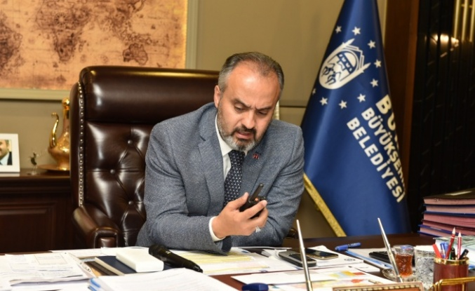 Başkan Aktaş anons yaptı, Bursa'nın savaşlarını kutladı
