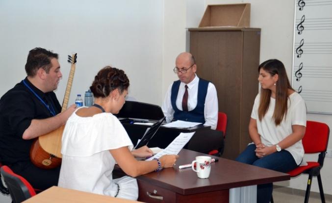 Bursa'da Orkestra Şube Müdürlüğü sınavlarında yetenekler konuştu
