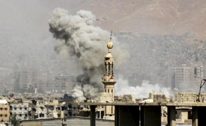 ABD Deyrizor'da sivilleri vurdu