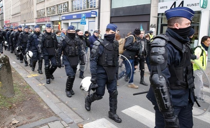 Brüksel sokakları yine karıştı! Bu sefer ki sebep ise...