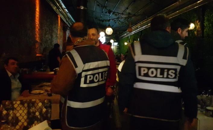 Bursa'da eğlence mekanlarına denetleme! 300 polis...