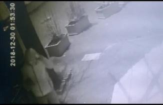 Market fareleri güvenlik kameralarında