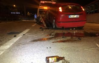 Bursa'da akılalmaz olay! Kaza sonrası araçtan indiler...