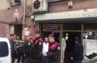 Beyoğlu'nda internet kafeyi taradılar