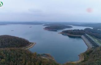 Ömerli Barajı'ndaki su seviyesi son 11 yılın en düşük seviyesine geriledi