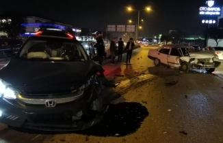 Bursa'da kırmızı ışıkta geçip kaza yaptı, yakınlarına 'Araç burada, ilgilenin' dedi
