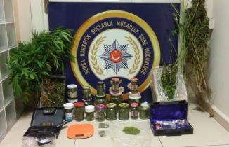 Bursa'da büyük uyuşturucu operasyonu: 5 kişi gözaltına alındı