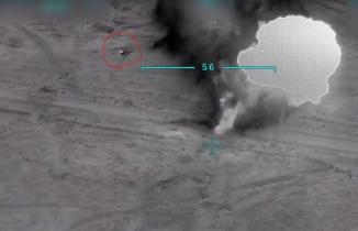 TSK'dan Sincar'da teröristlere bomba üstüne bomba! Saniye saniye görüntülendi