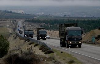 TSK'dan sınır birliklerine askeri sevkiyat sürüyor
